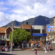 Colombia - Plaza Viente de Julio, Bogota