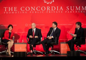 The 2nd Annual Concordia Summit, Promoting Public-Private Partnerships.