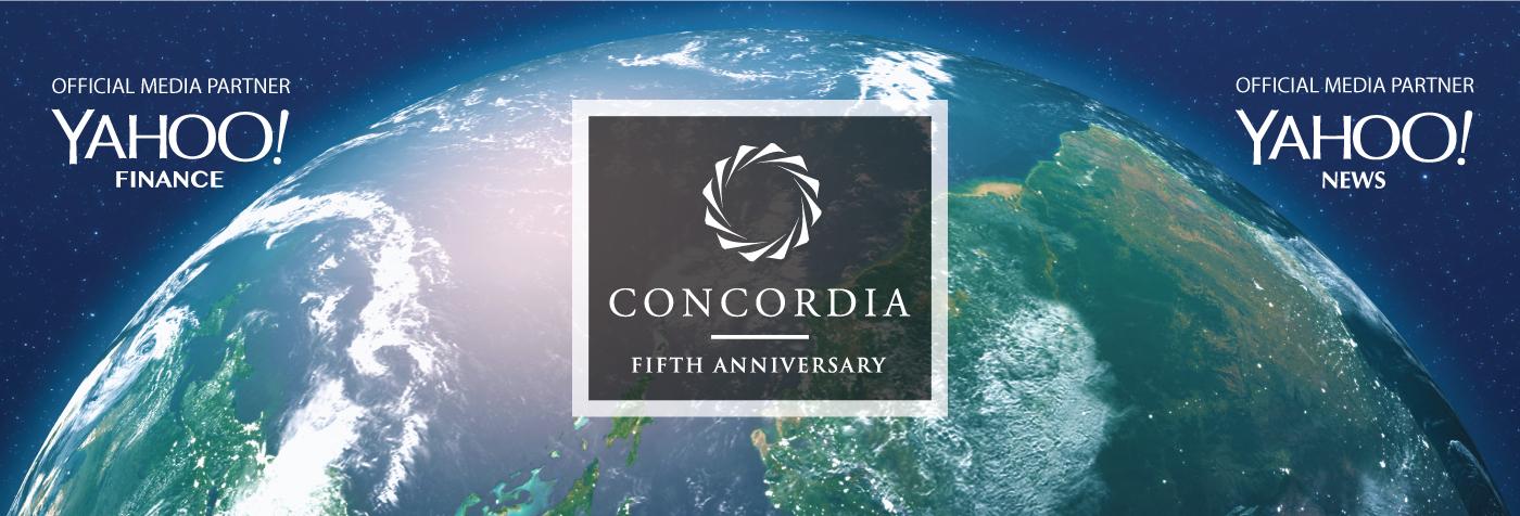 2015 Concordia Summit - Magazine cover