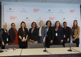 In honor of International Women's Day (IWD) and Global Partnerships Week (GPW), BNY Mellon, the YWCA, and Concordia hosted an event celebrating the social, economic, and political empowerment of women. (Speakers: CLAUDIA CHAN, CARLA BRILLEMBOURG-CLARK, JOANNE SANDLER, ELIZABETH VAZQUEZ)