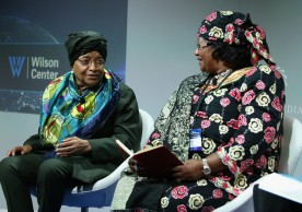 NEW YORK, NY - SEPTEMBER 20:  President of Liberia, Ellen Johnson Sirleaf and Former President of Malawi H.E. Joyce Banda attends 2016 Concordia Summit - Day 2 at Grand Hyatt New York on September 20, 2016 in New York City.  (Photo by Paul Morigi/Getty Images for Concordia Summit) *** Local Caption *** Ellen Johnson Sirleaf;H.E. Joyce Banda