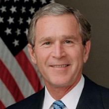 GWB profile picture 220x220 - President George W. Bush