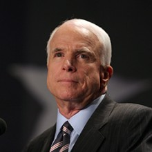 John McCain BIo 220x220 - Senator John McCain