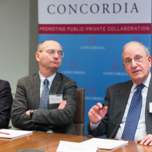 George Mitchell 7 2 220x220 - Former Senate Majority Leader George J. Mitchell Joins Concordia Leadership Council