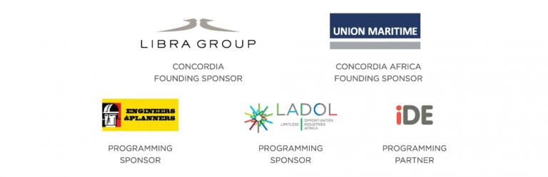 Sponsors 768x249 - 2019 Concordia Africa Initiative in London