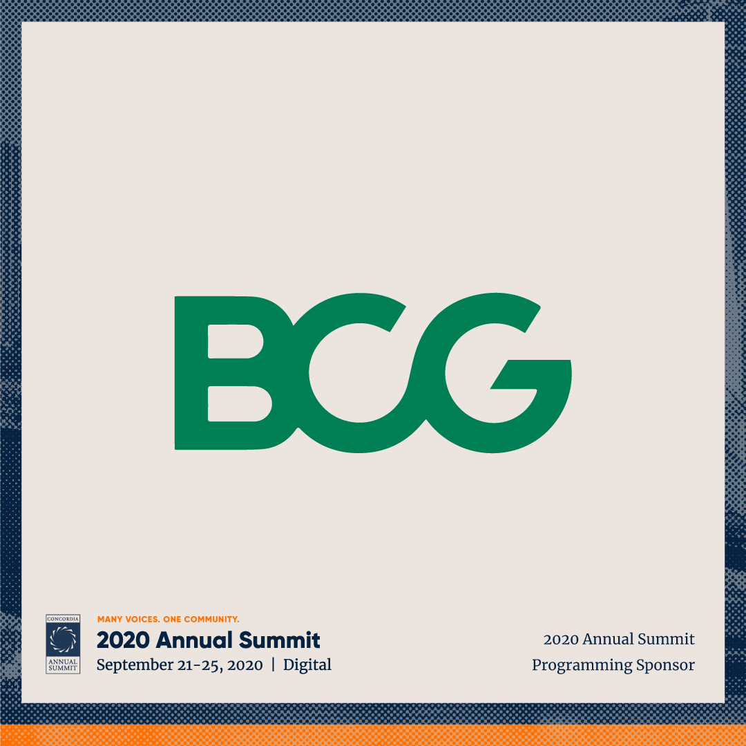 ANN20 Partners BCG4 - Concordia welcomes Boston Consulting Group (BCG) as a 2020 Programming Sponsor