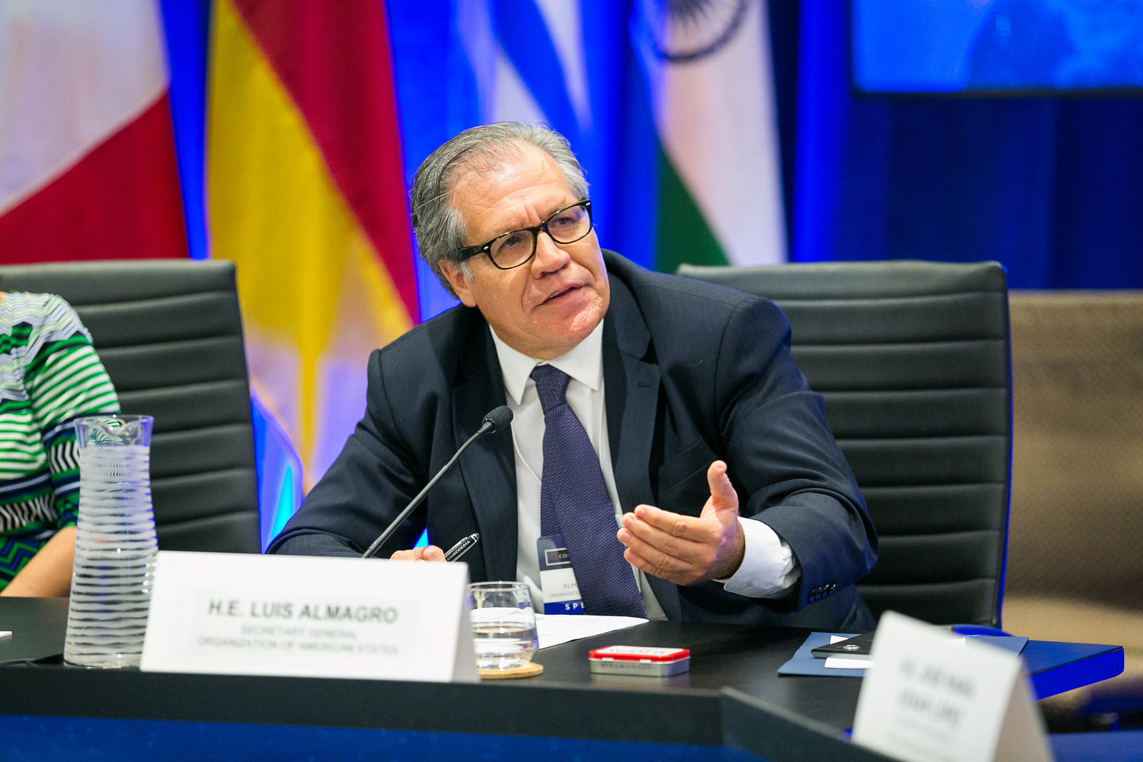 i vSWH4PZ X3 - Concordia welcomes H.E. Luis Almagro to the Leadership Council