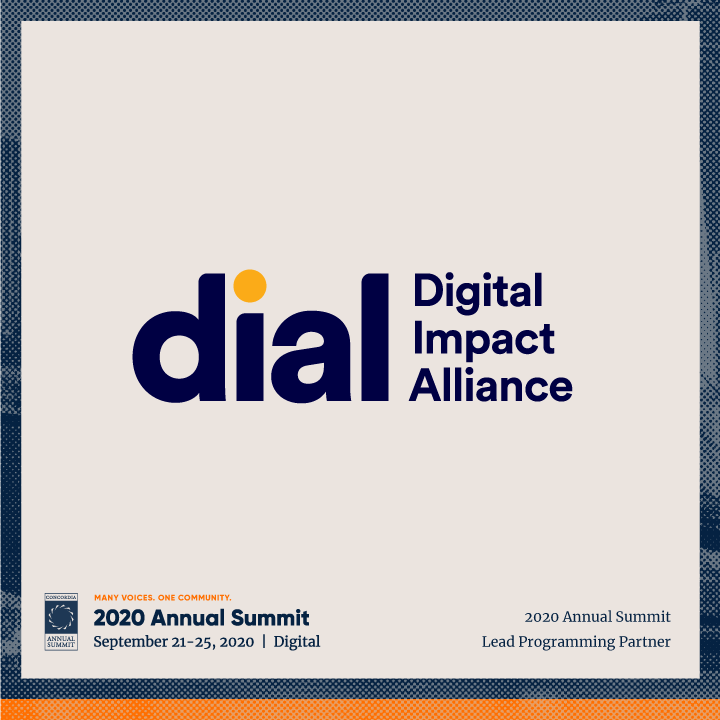 ANN20 Dial 1 - Concordia welcomes DIAL as Lead Programming Partner for the 2020 Annual Summit
