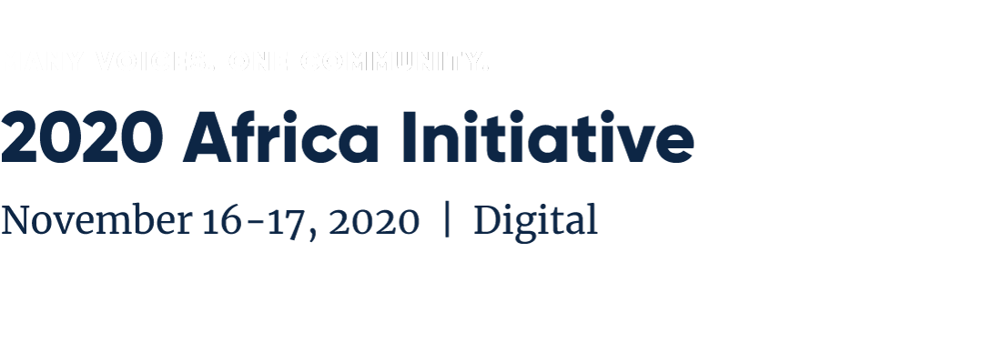 AFR20 Website Banner - 2020 Concordia Africa Initiative