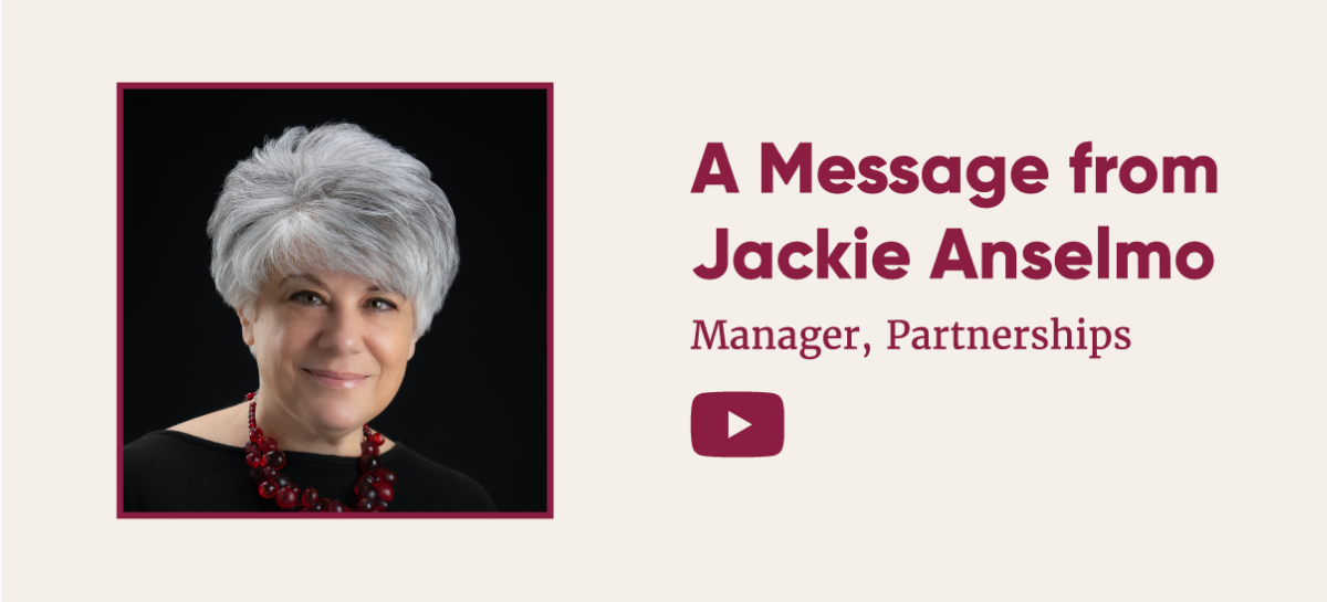 7d7d3a24 45f4 461e 91e5 832270577b4f - A Message from Jackie Anselmo