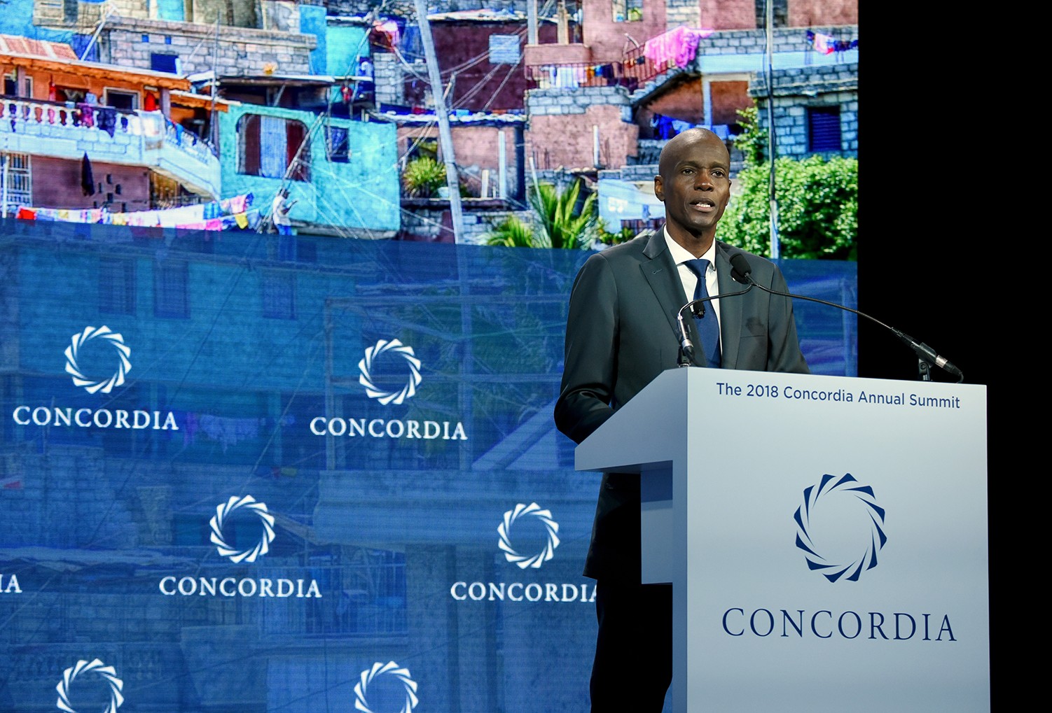 Jovenel Moi%CC%88se - Concordia shocked & saddened to learn of assassination of Jovenel Moïse, President of Haiti and 2018 Annual Summit Speaker