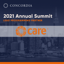 CARE ANN21 sq 220x220 - Welcoming CARE as a 2021 Annual Summit Lead Programming Partner