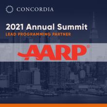 AARP ANN21 sq 220x220 - Welcoming AARP as a 2021 Annual Summit Lead Programming Partner